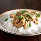 Slow Cooker Chicken Marsala and Rice 2