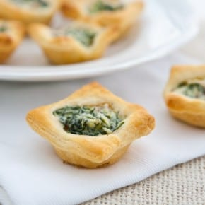 Mushroom and Spinach Tartlets 1