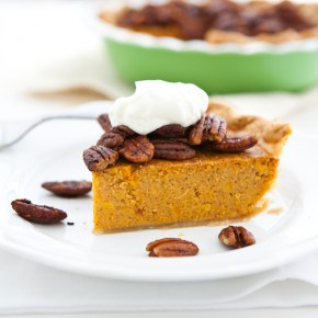 Sweet Potato Pie with Maple Candied Pecans 2