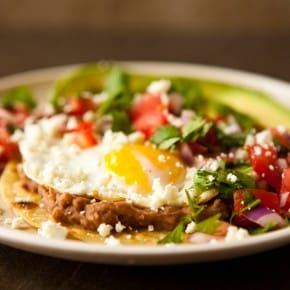 Huevos Rancheros with Pico de Gallo 1