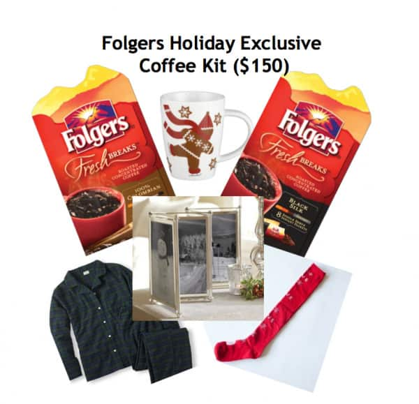 Folgers Holiday Exclusives Coffee Kit