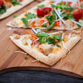 Thai Flatbread Pizza 4