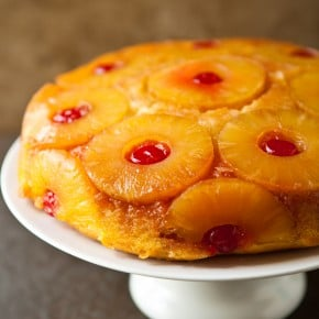 Pineapple Upside-Down Skillet Cake 2