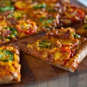 Bacon, Jalapeno and Tomato Pizza 3