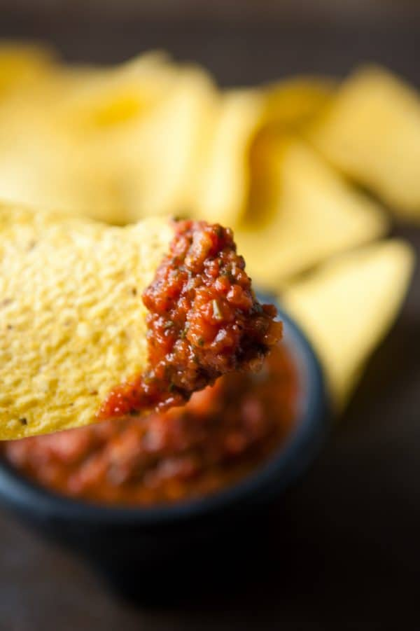 chip with salsa
