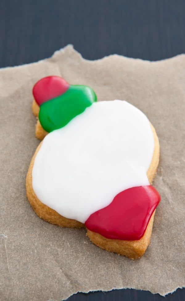 christmas ornament cookie cutout