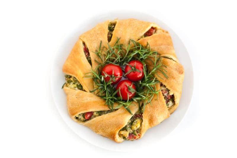 Eclectic Recipes Crescent Wreath Eclectic Recipes