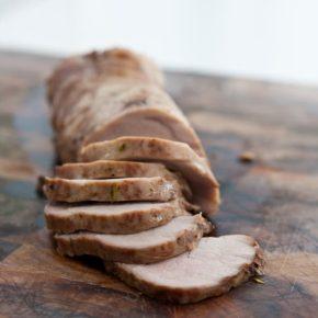 Maple Roasted Pork Loin 1