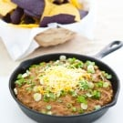 Skillet Chili Cheese Dip  @EclecticEveryday
