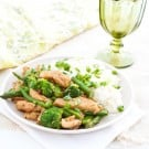 Asparagus and Broccoli Chicken Teriyaki @EclecticEveryday