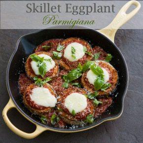 Skillet Eggplant Parmigiana 3