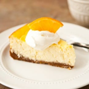 Orange Greek Yogurt Cheesecake 1