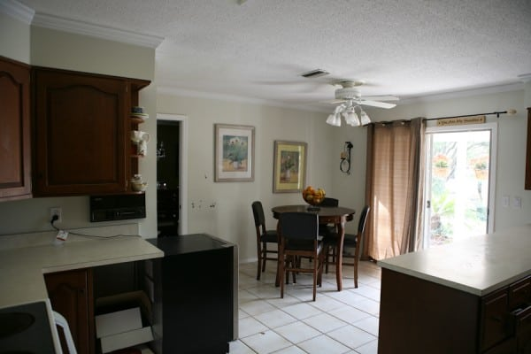 Before - Dining Area