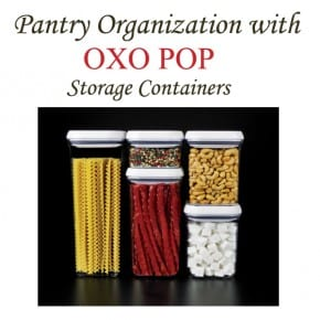 Pantry Organization {OXO POP Giveaway} 1