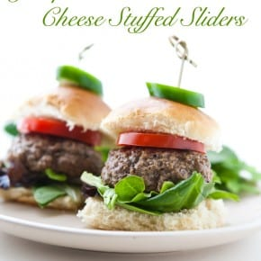 Cream Cheese Jalapeno Stuffed Sliders 3