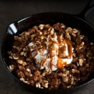 Skillet Apple Butter Bread Pudding @EclecticEveryday