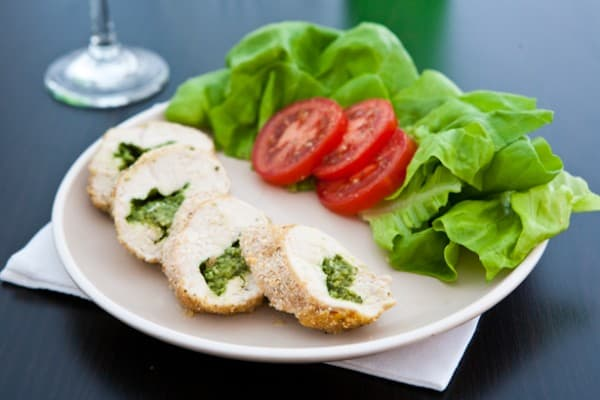 pesto stuffed chicken tenders