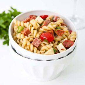 Italian Pasta Salad {Giveaway} 1