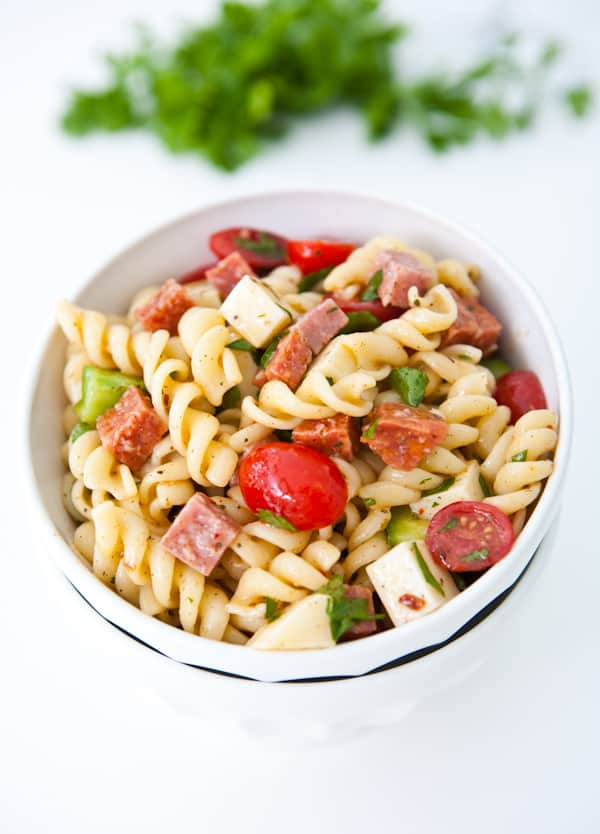 Italian Pasta Salad {Giveaway} Recipe