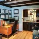 Home Office and Wet Bar Makeover @EclecticEveryday