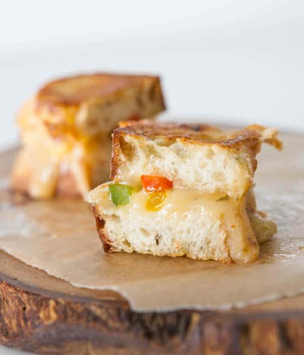 fajita sandwiches white background