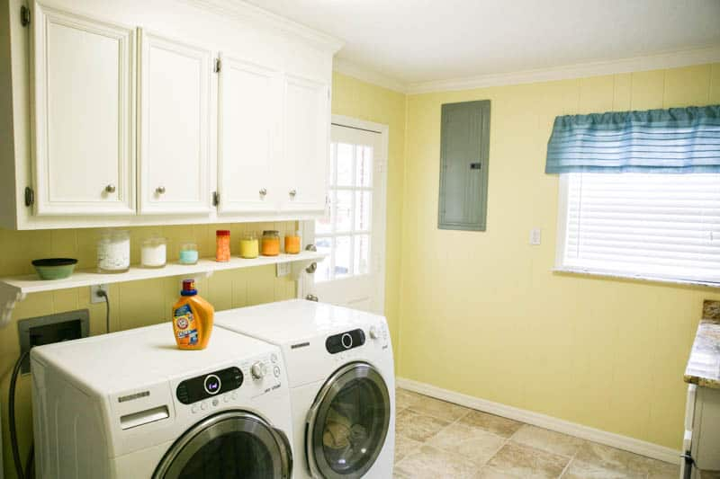 Eclectic Recipes Laundry Room Makeover And A Giveaway