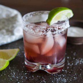 Raspberry Hibiscus Margarita 2