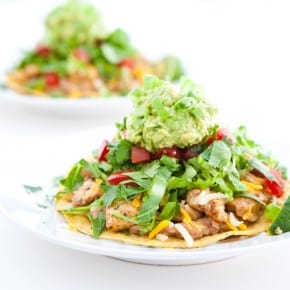 Chipotle Chicken Tostadas 3