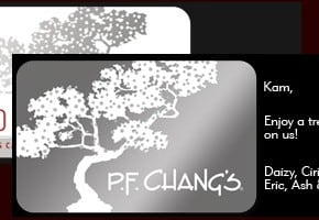 Give The Gift Of P.F. Chang's For The Holiday 1