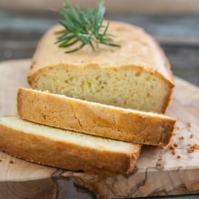 Orange & Olive Oil Quick Bread with Rosemary 3