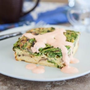 Spicy Egg Bake with Sriracha Remoulade 2
