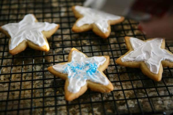 Holiday Star Cookies Recipe