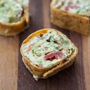 Avocado Cream Cheese Snack Roll-Ups 3