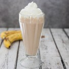 Chocolate Peanut Butter Banana Milkshake 2