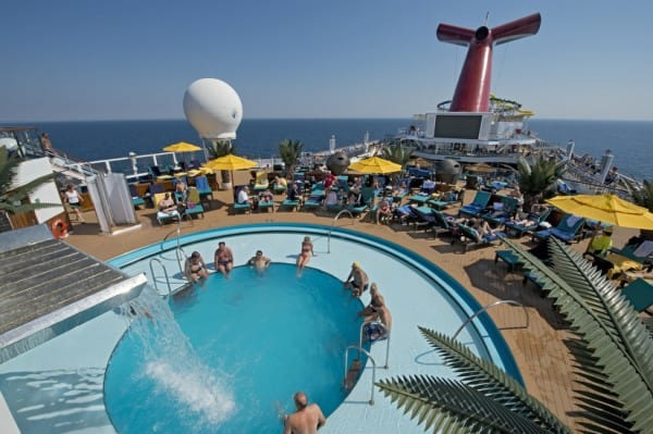 Carnival Sunshine pool