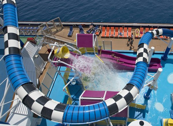Carnival Sunshine water play