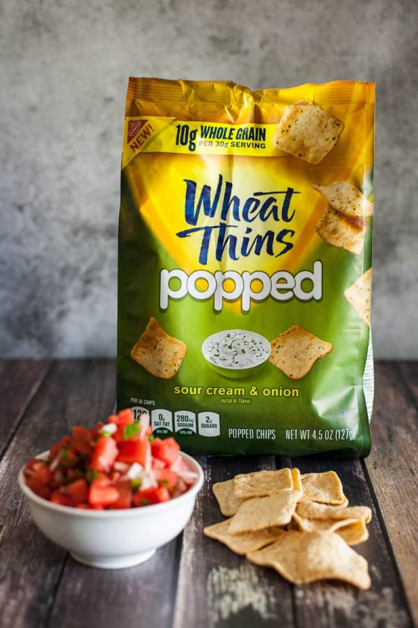 popped wheat thins