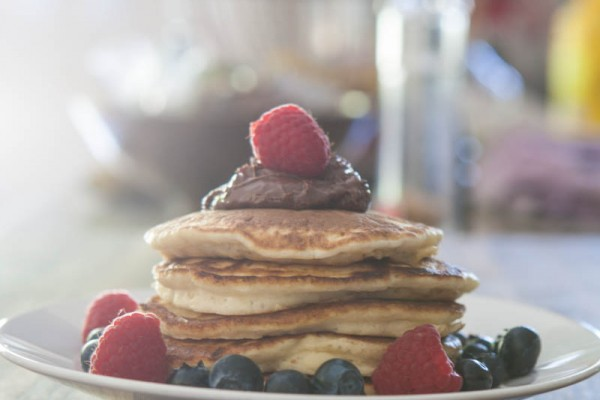 Ricotta Pancakes with Nutella Recipe