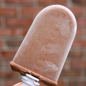 Chocolate Almond Pudding Pops 1