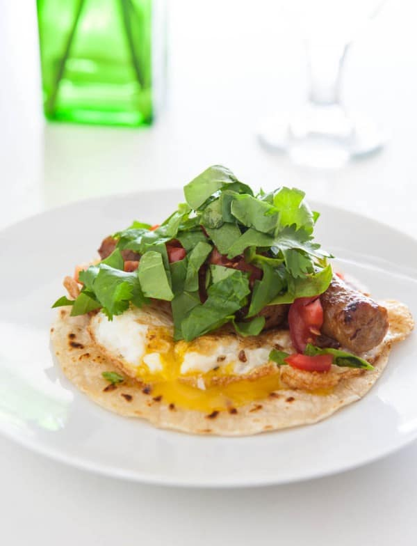 Fried Egg Tacos Recipe