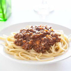 Zesty Spaghetti Bolognese 3