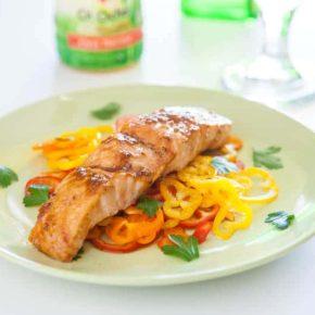 {Giveaway} Ginger Tamari Salmon  1