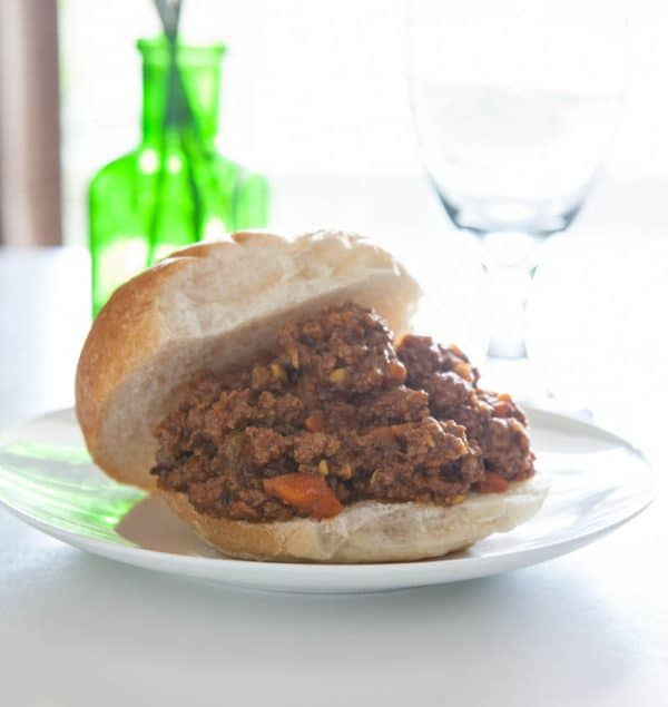 healthier sloppy joe