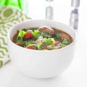 Albondigas (Mexican Meatball) Soup 3
