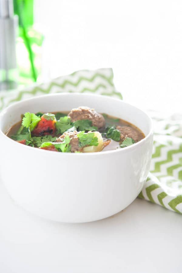 Albondigas (Mexican Meatball) Soup Recipe