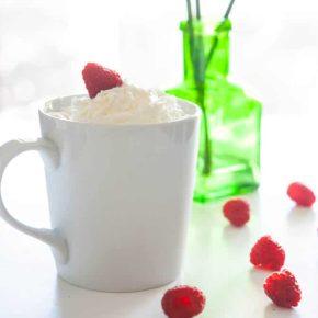 Raspberry White Hot Chocolate 3