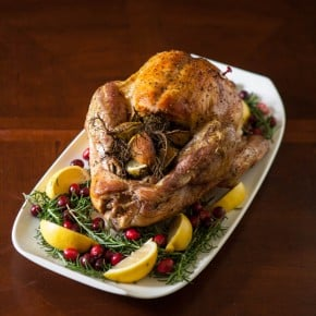 Lemon Rosemary Roast Turkey 1