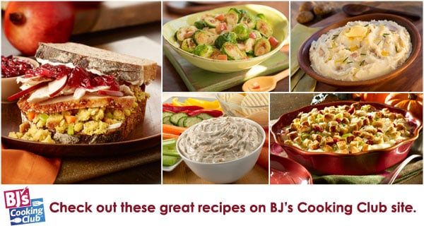 bj's cooking club banner