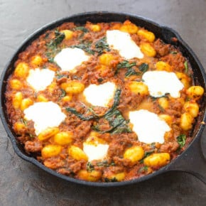 Skillet Gnocchi With Italian Sausage and Spinach 1