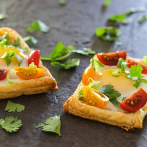 Puff Pastry Egg Tarts 2